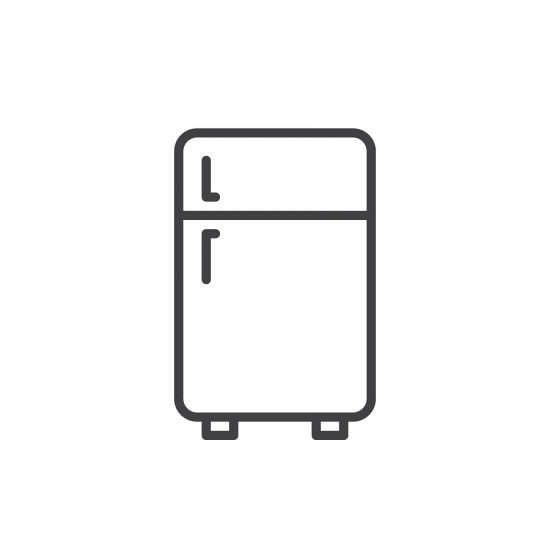 bigstock Two Door Refrigerator Outline 227328880