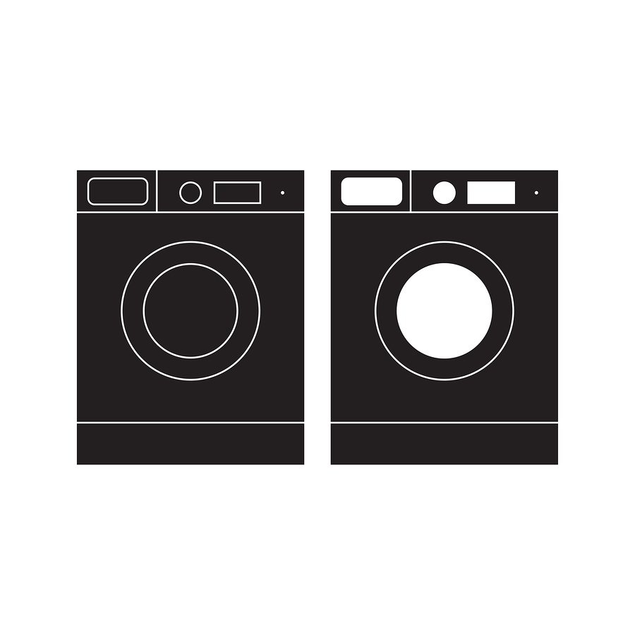washing machine & clothes dryer